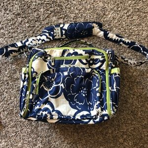 JuJuBe BFF Diaper Bag - Cobalt Blossoms
